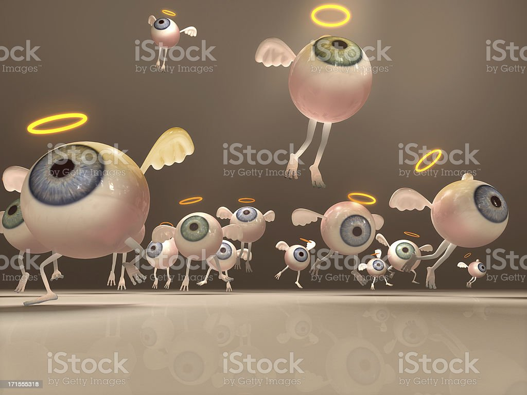 Sweet Angels royalty-free stock photo