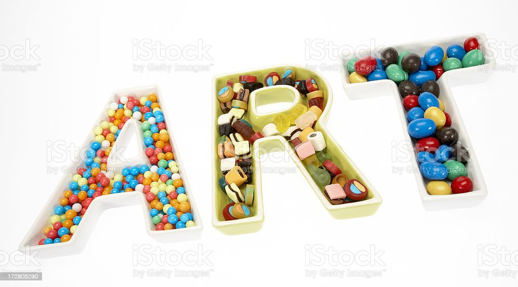 Sweet art royalty-free stock photo