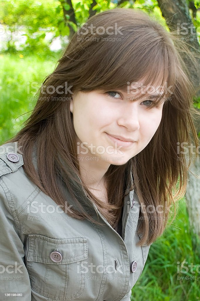 Sweet attractive girl royalty-free stock photo