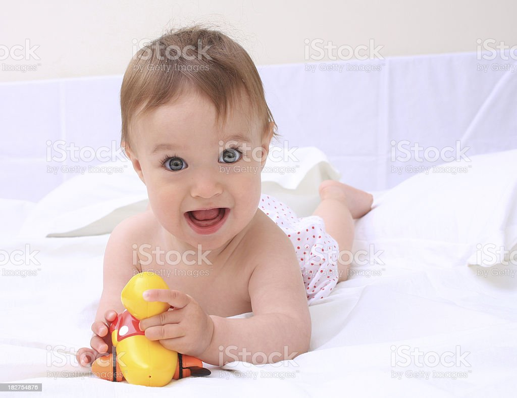 Sweet baby royalty-free stock photo