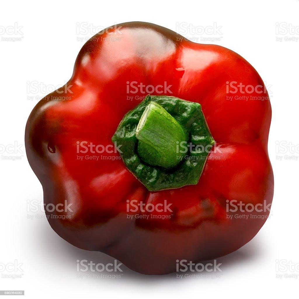 Sweet bell pepper (Gogoshar), paths stock photo