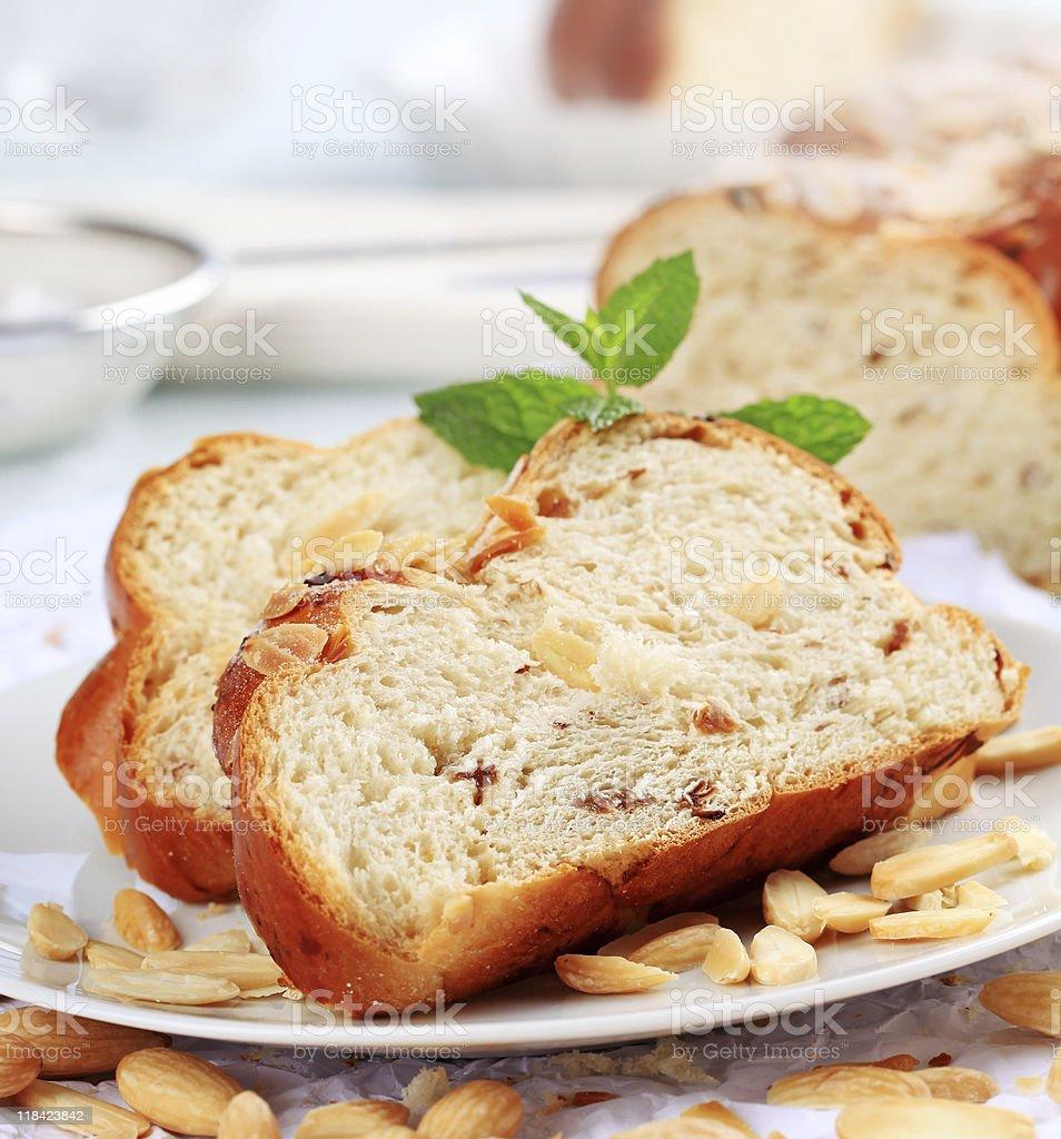 Сладкий Плетёный хлеб Стоковые фото Стоковая фотография