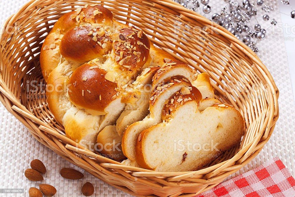 Sweet bread stock photo