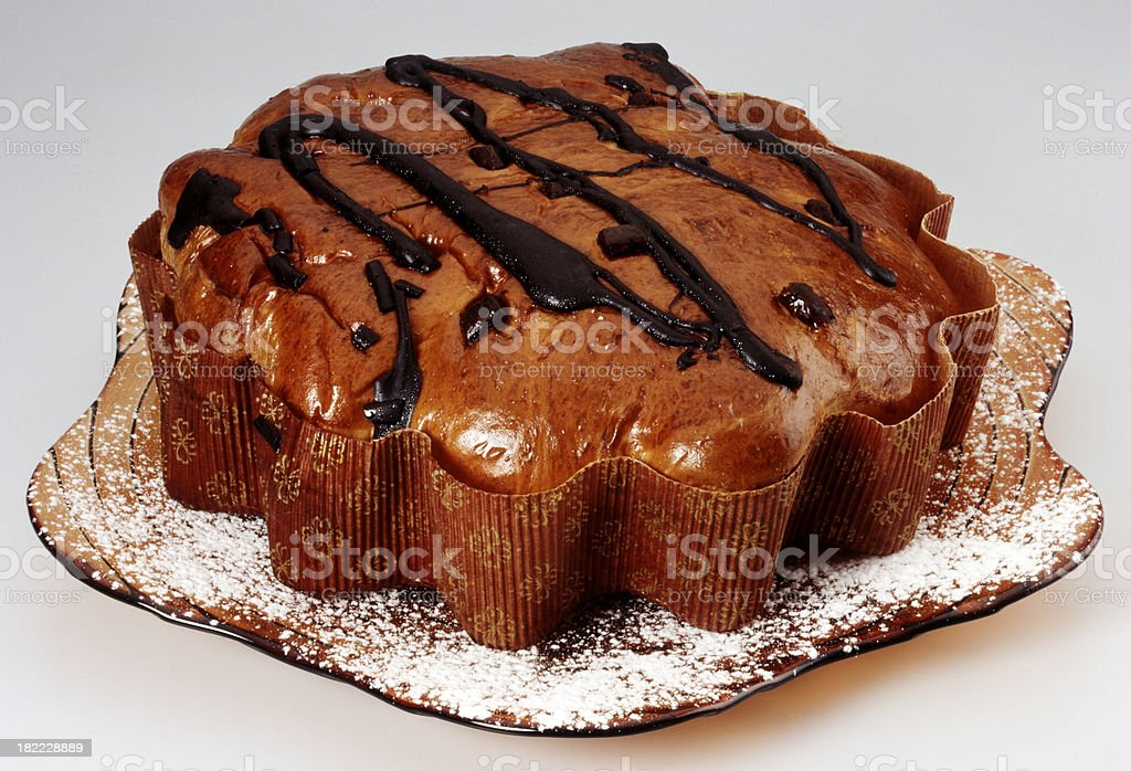 Sweet Bread(clipping path) stock photo