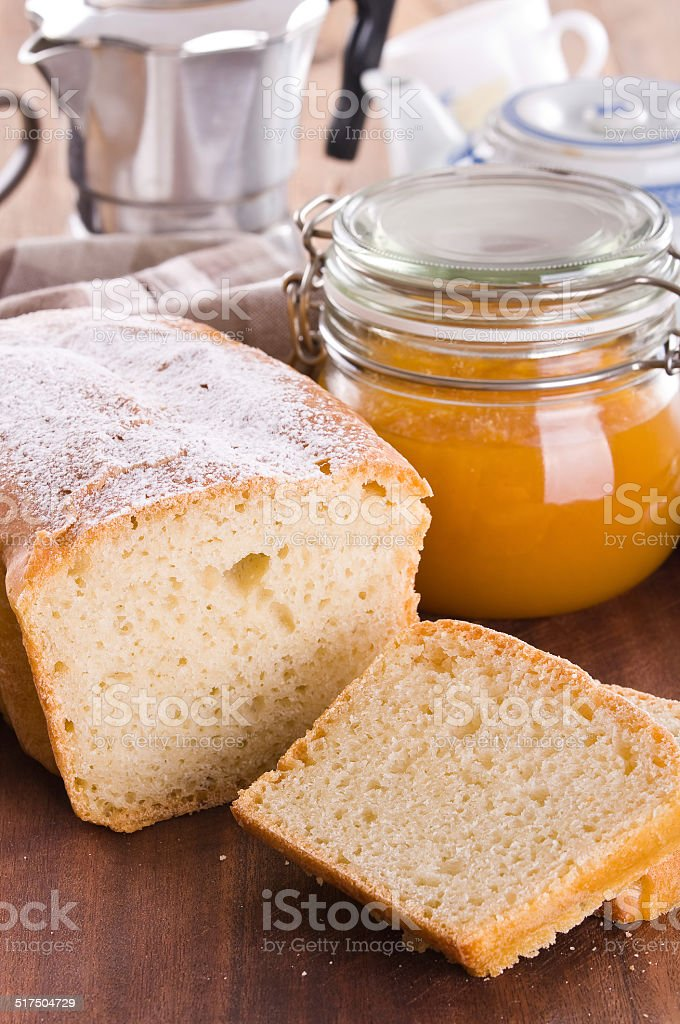 Sweet bread. stock photo