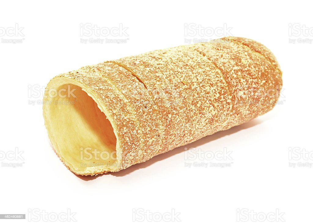 sweet bread roll stock photo