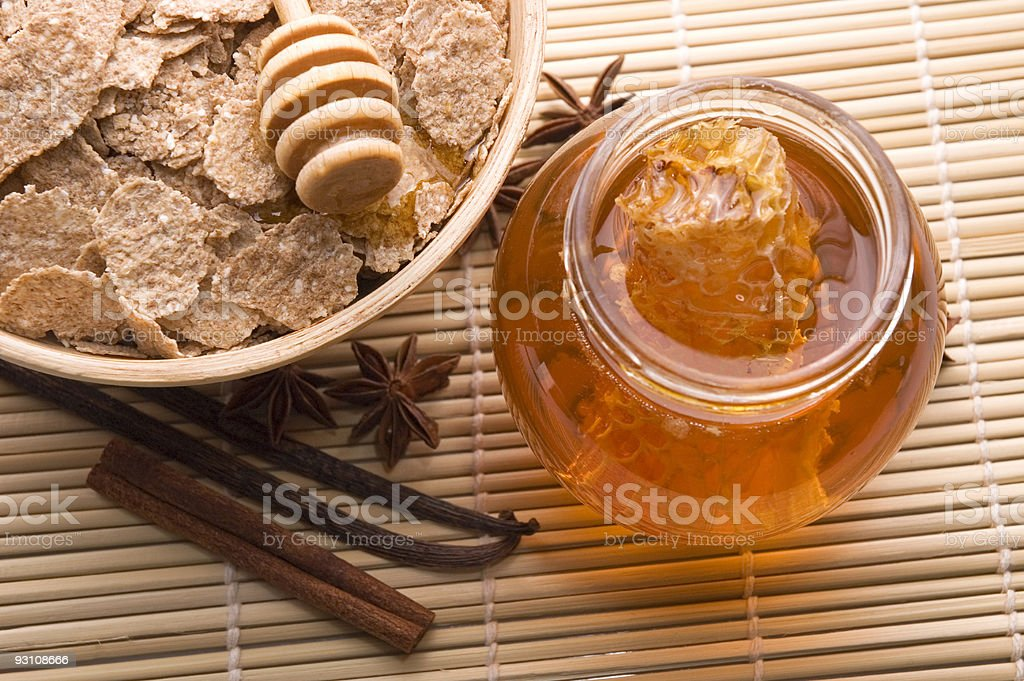 sweet breakfast royalty-free stock photo