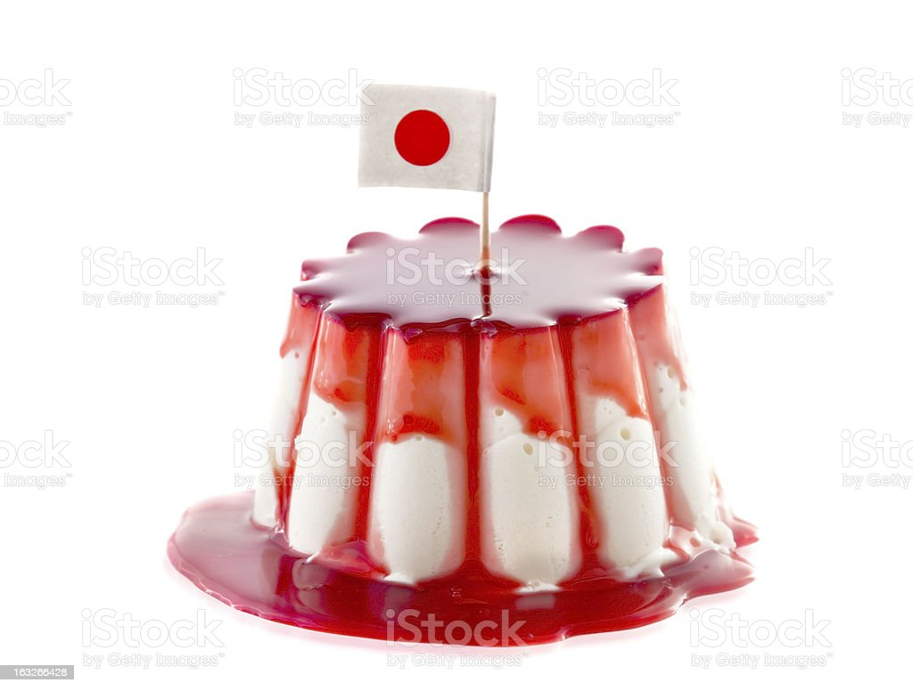 Sweet cake Japan royalty-free stock photo