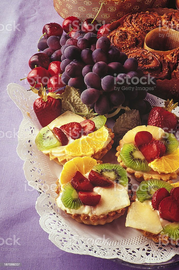 Sweet cakes royalty-free stock photo