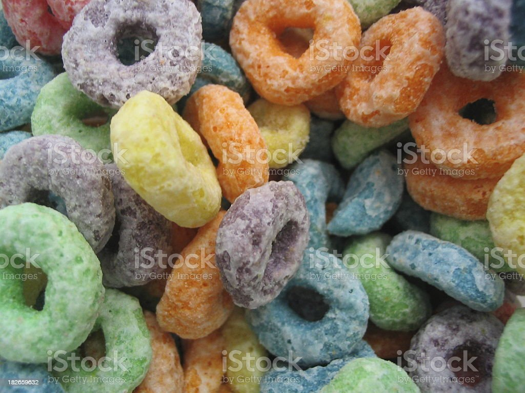 sweet cereal stock photo