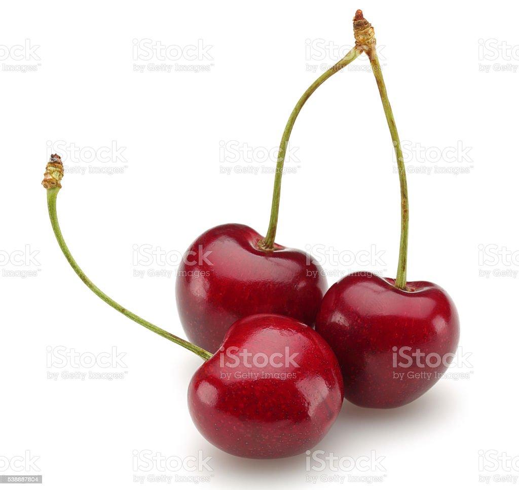 Sweet cherries stock photo