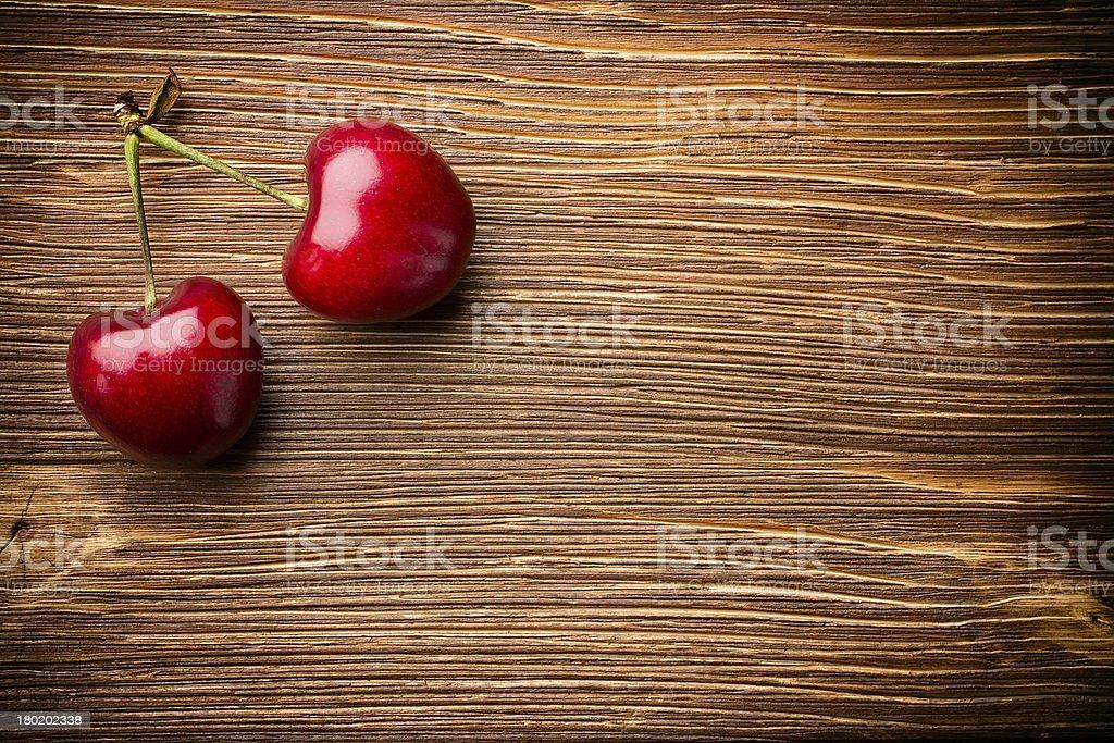 Sweet cherry. royalty-free stock photo