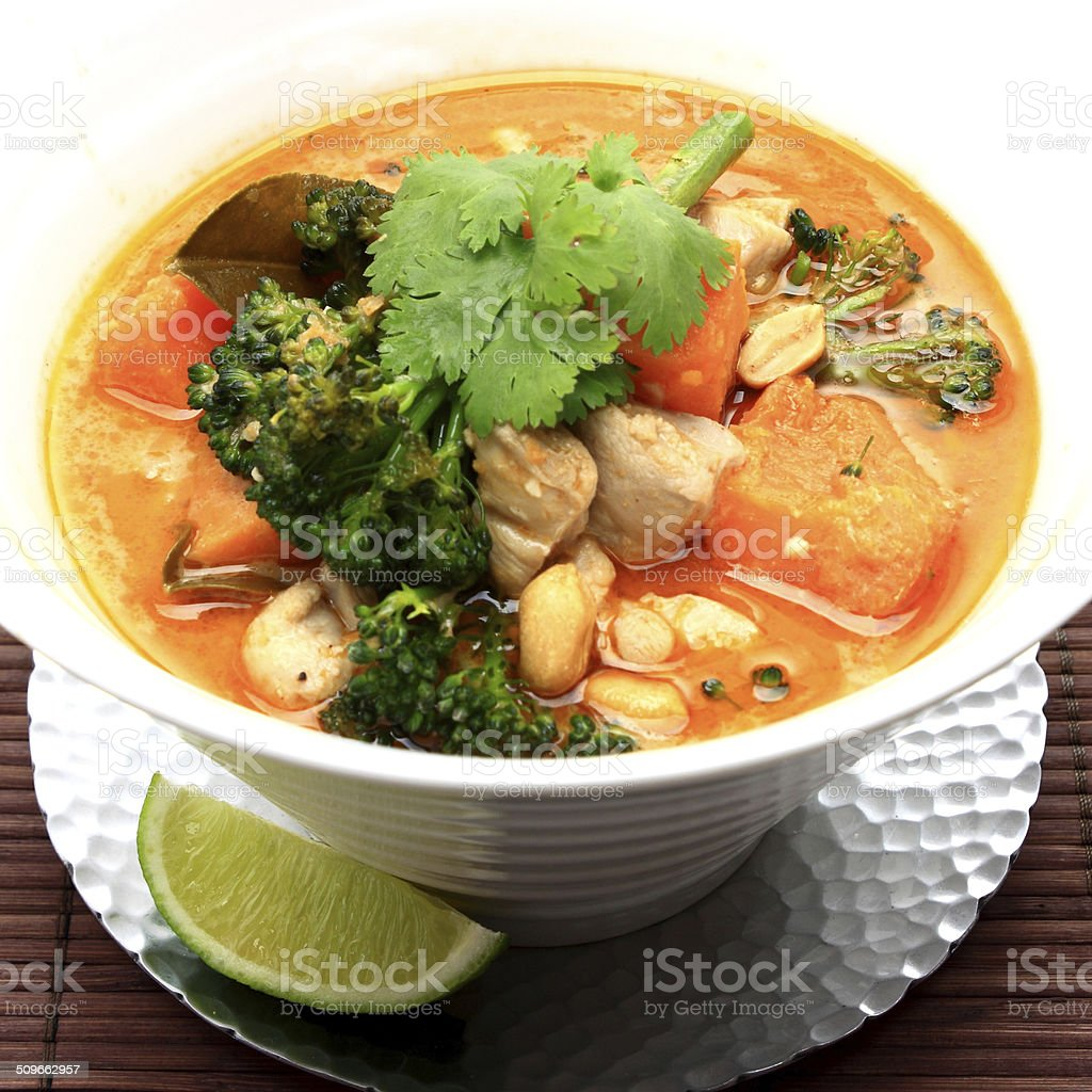 Sweet Chicken Curry stock photo
