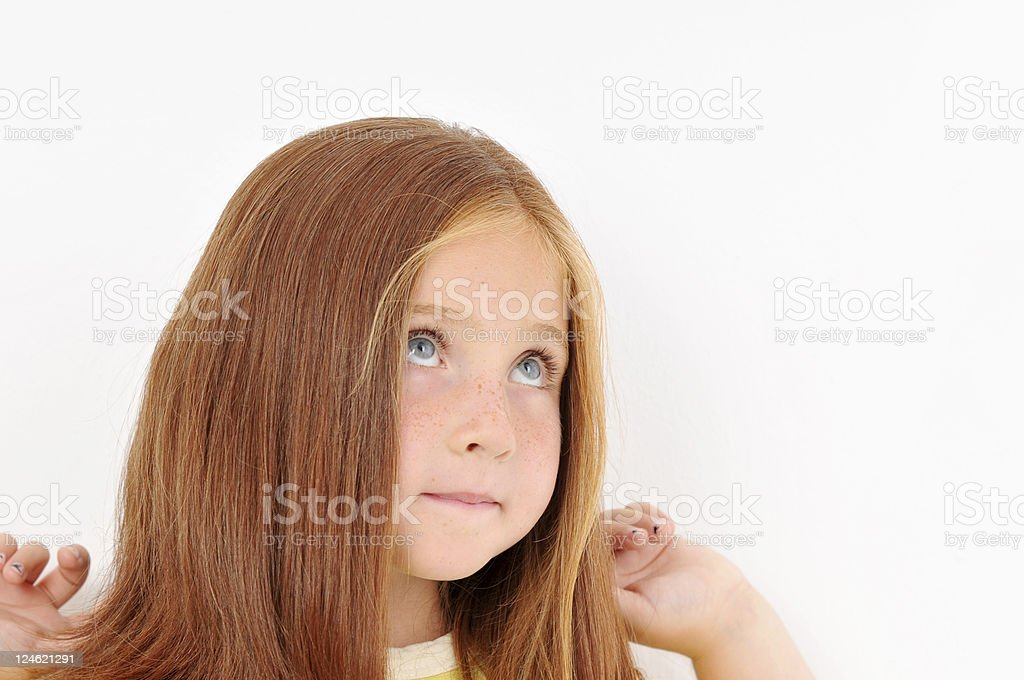 sweet child royalty-free stock photo