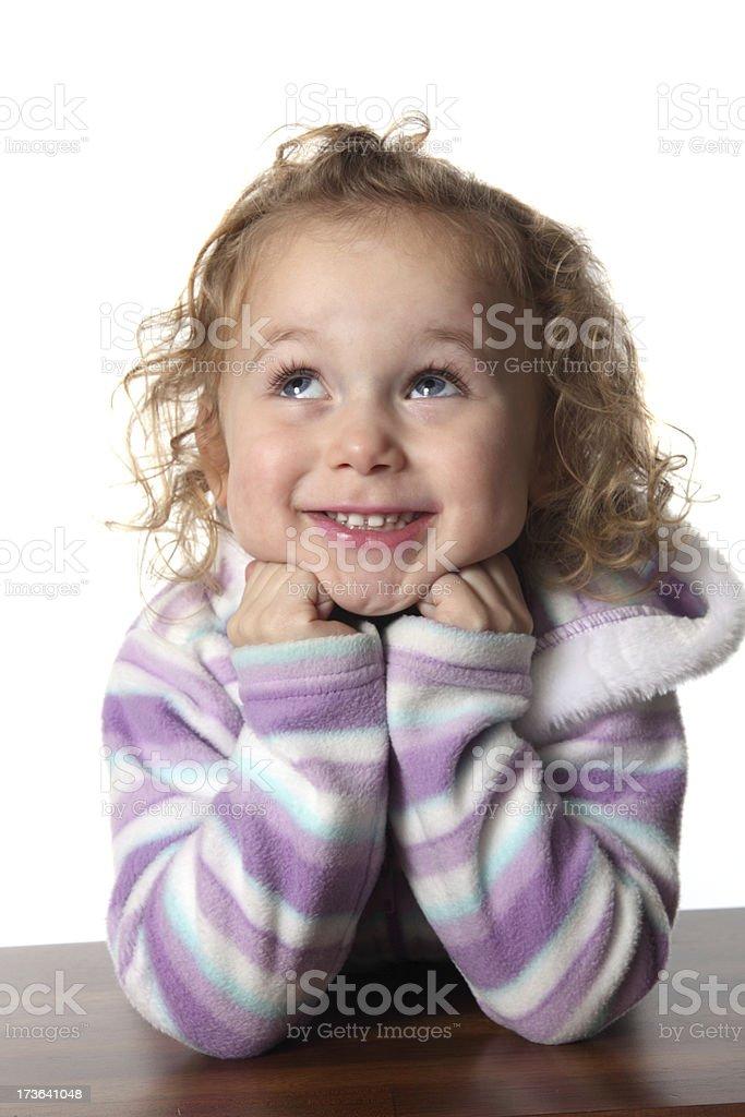 Sweet Child royalty-free stock photo