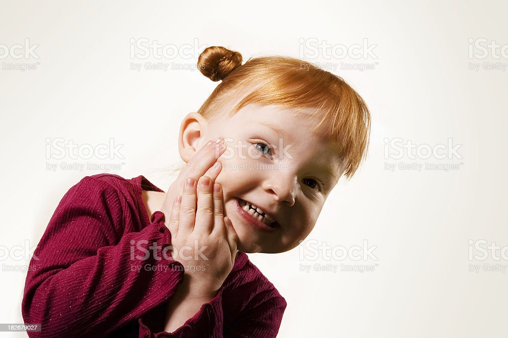 Sweet Child stock photo