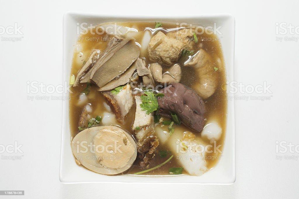 Sweet Chinese Pasta stock photo