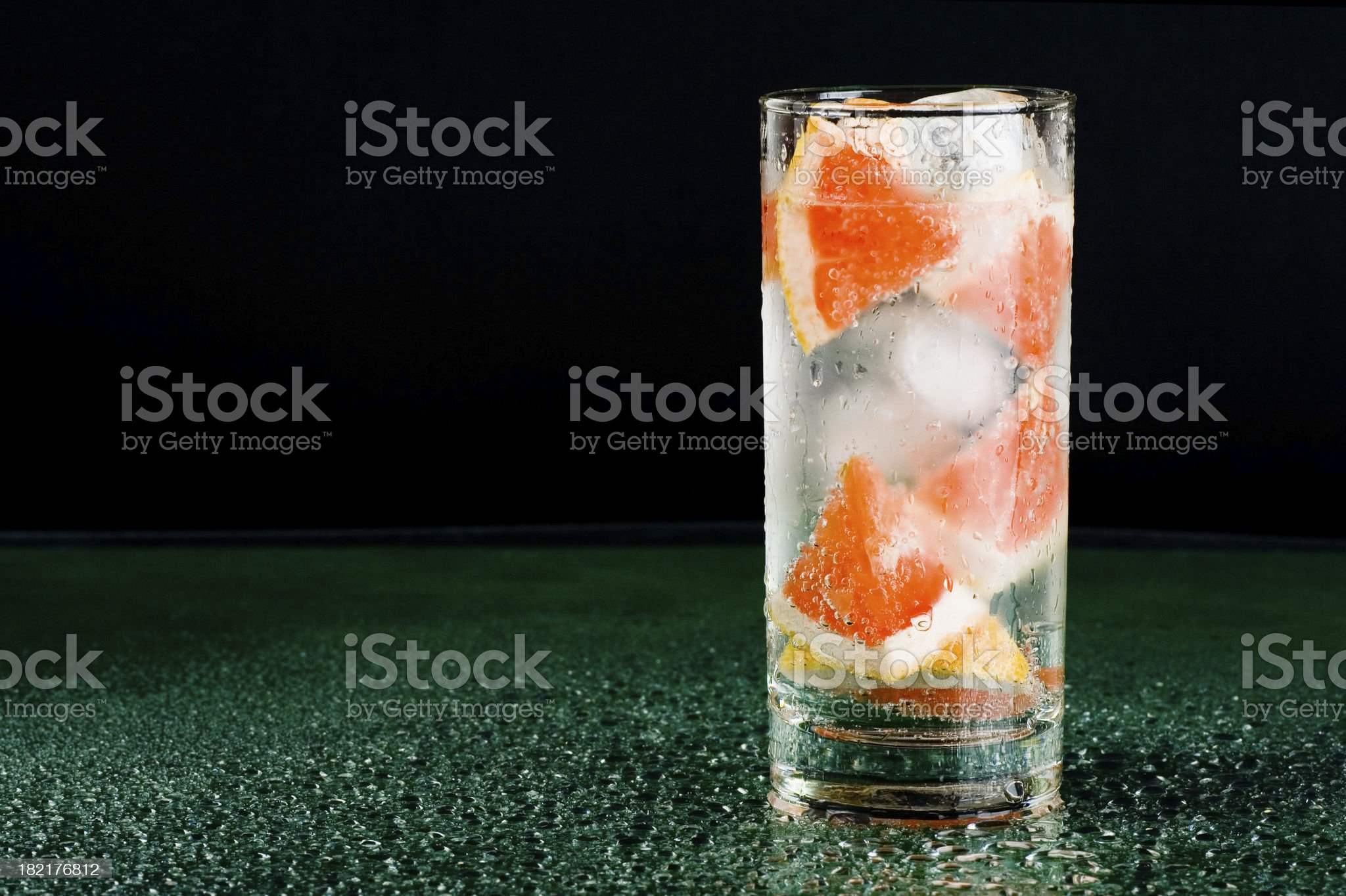 Sweet cocktail royalty-free stock photo