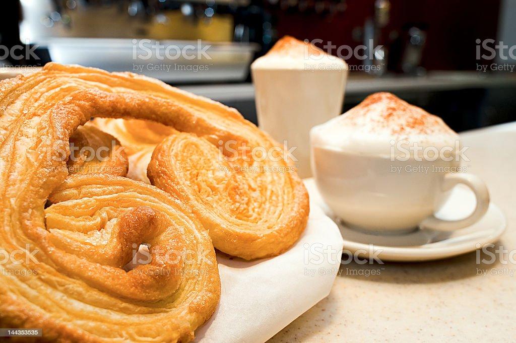 sweet coffee capucino royalty-free stock photo