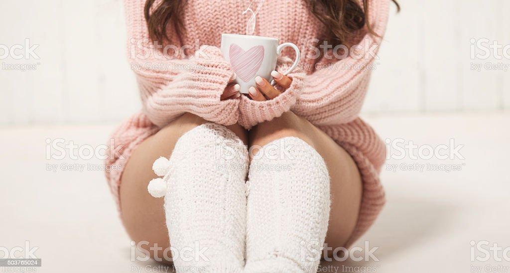 Sweet Coffee Morning stock photo