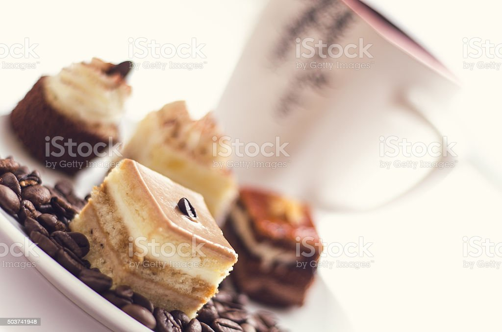 sweet coffee stock photo