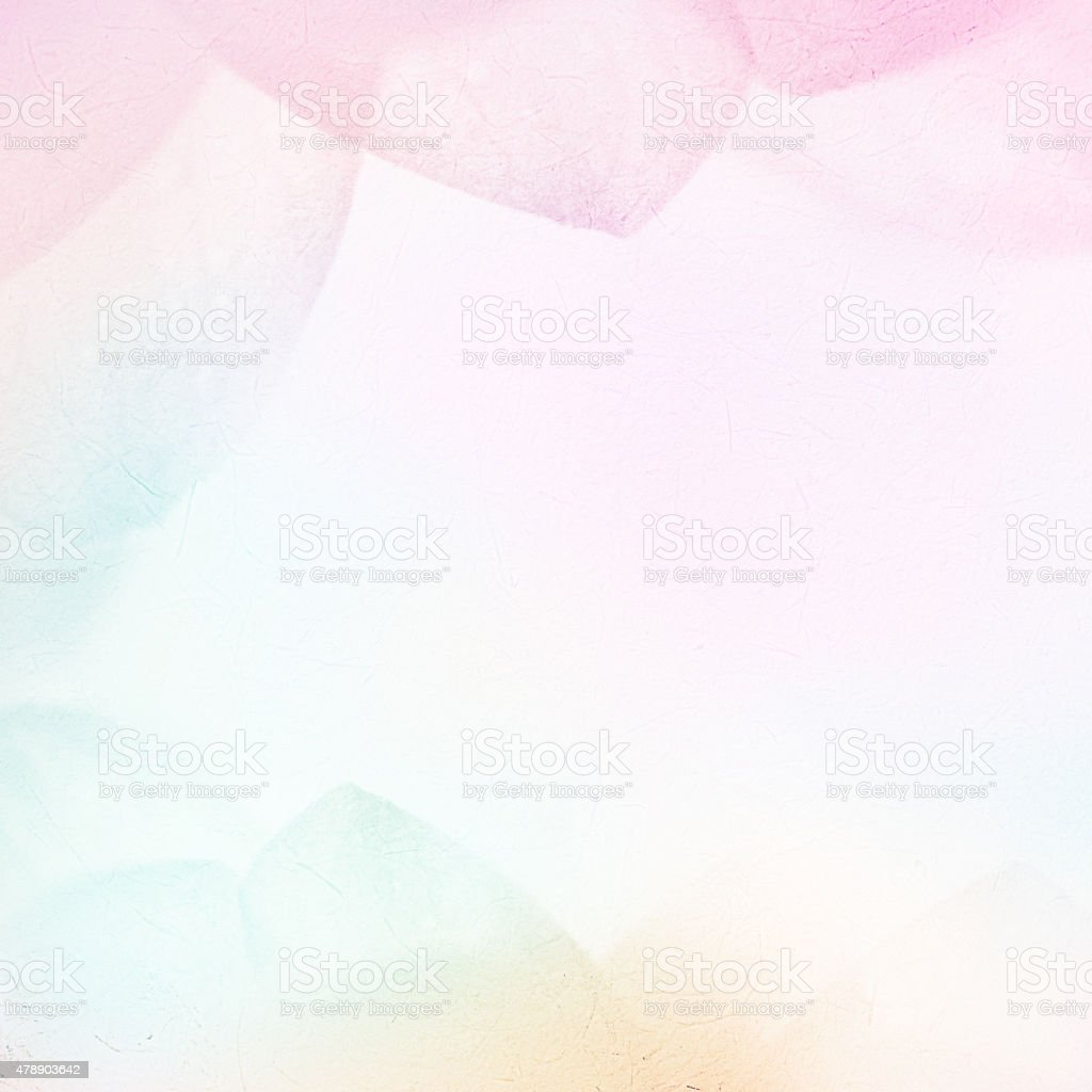 sweet color petals in soft style on mulberry paper texture stock photo