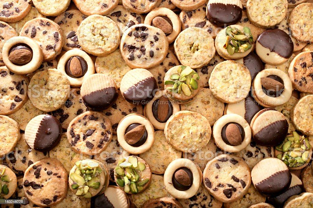 sweet cookies stock photo