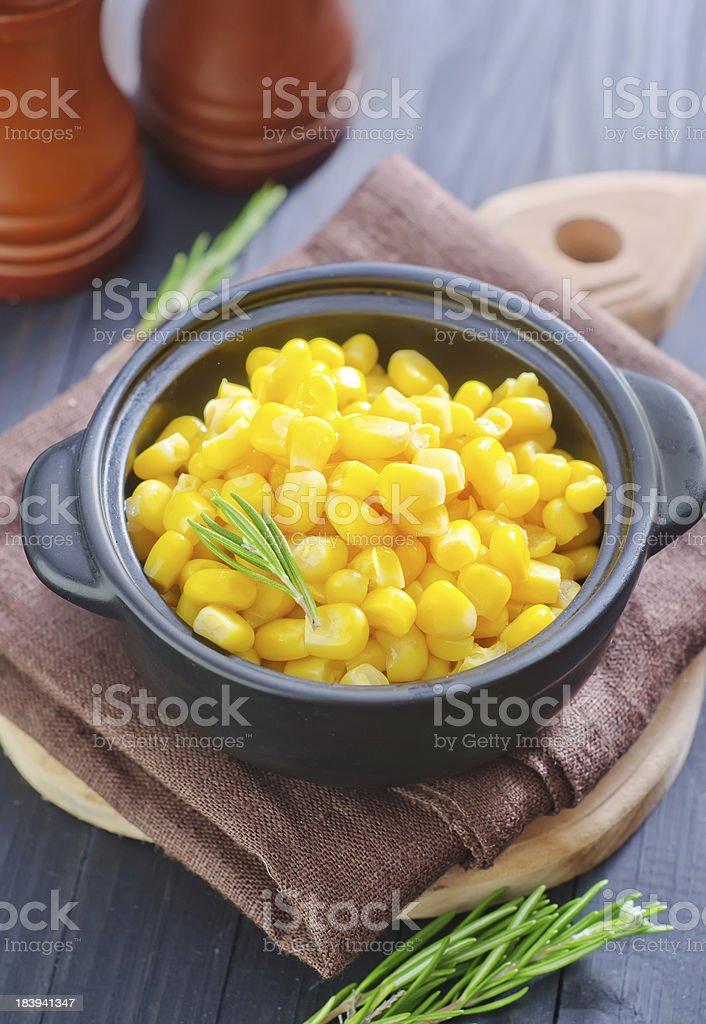 sweet corn royalty-free stock photo
