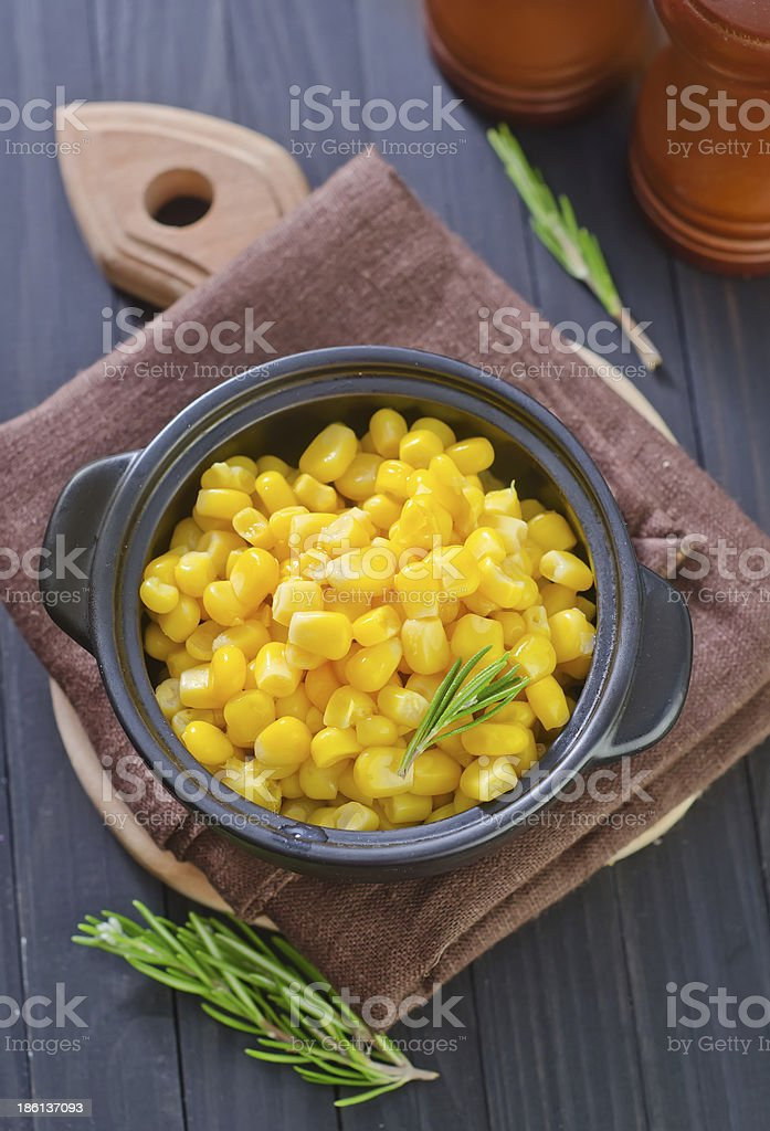 sweet corn royalty-free stock photo
