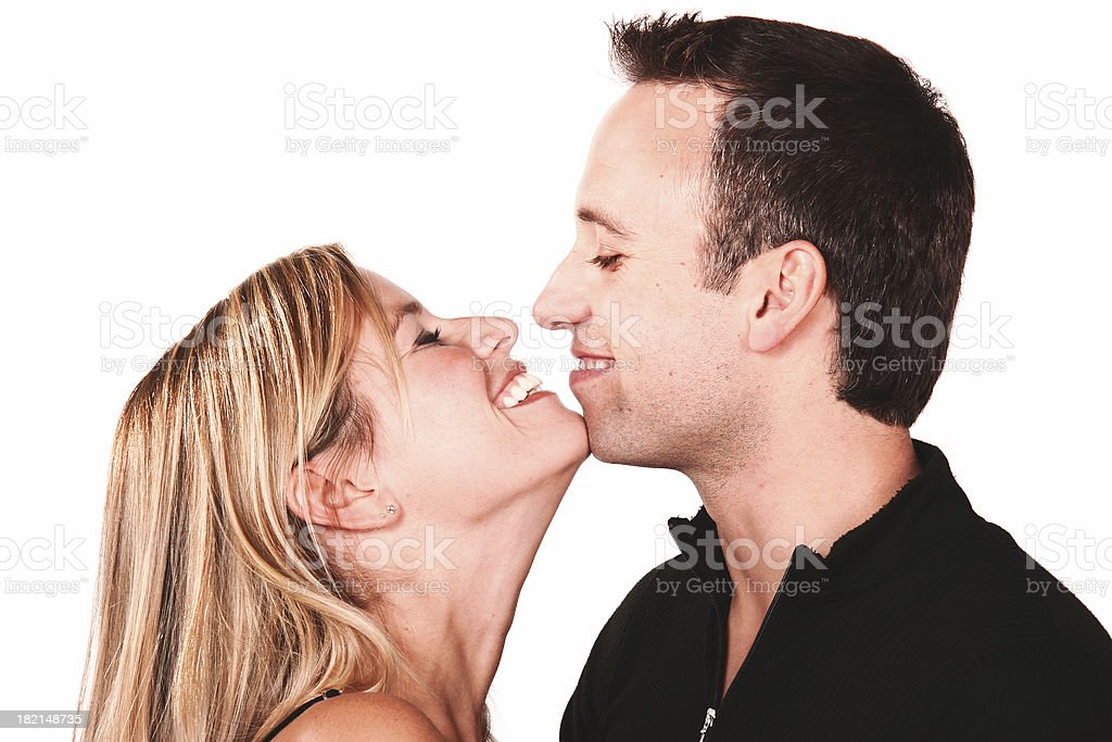 sweet couple 2 royalty-free stock photo