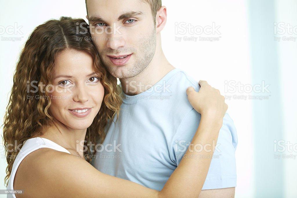 Sweet couple royalty-free stock photo