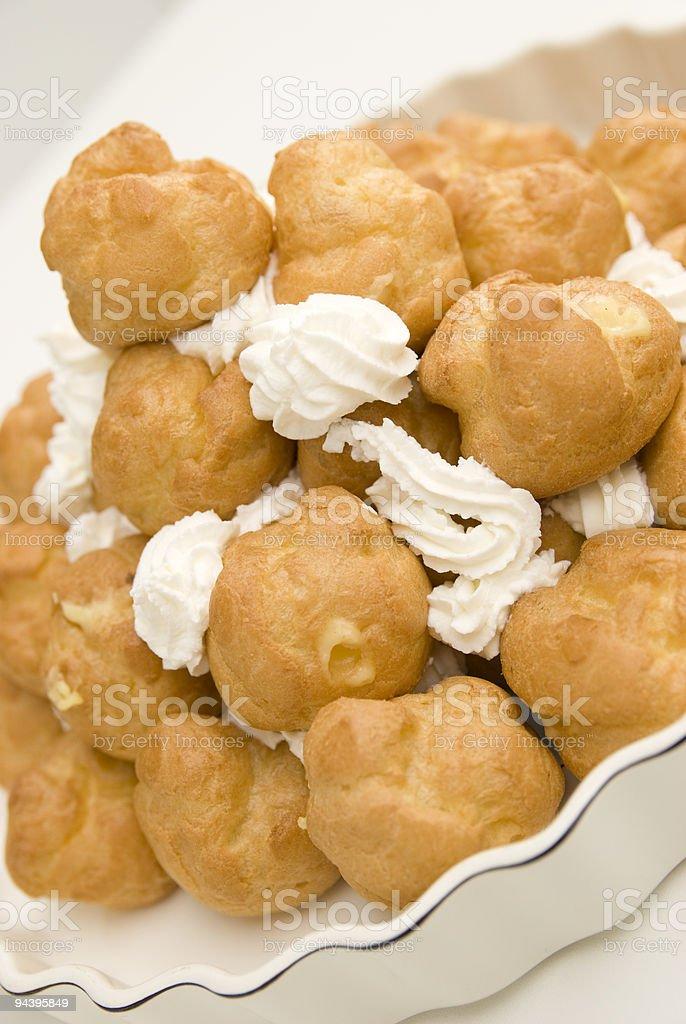 sweet cream royalty-free stock photo
