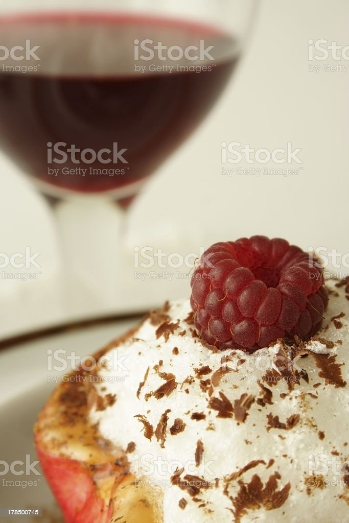 Sweet desert royalty-free stock photo