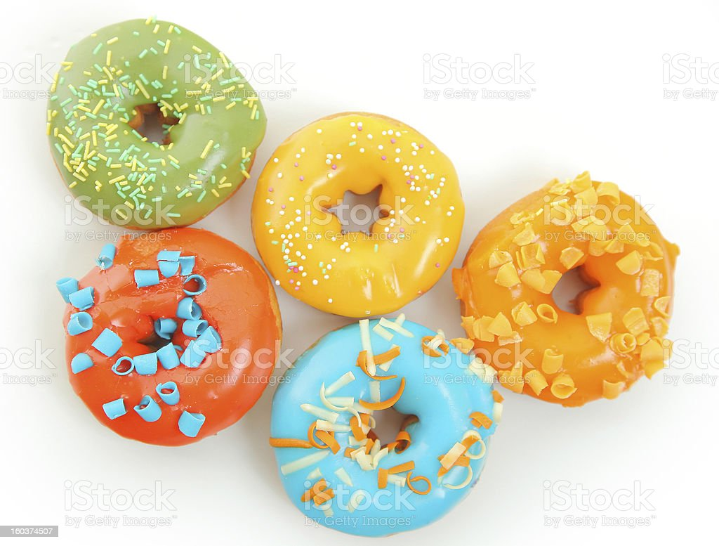 sweet donuts royalty-free stock photo