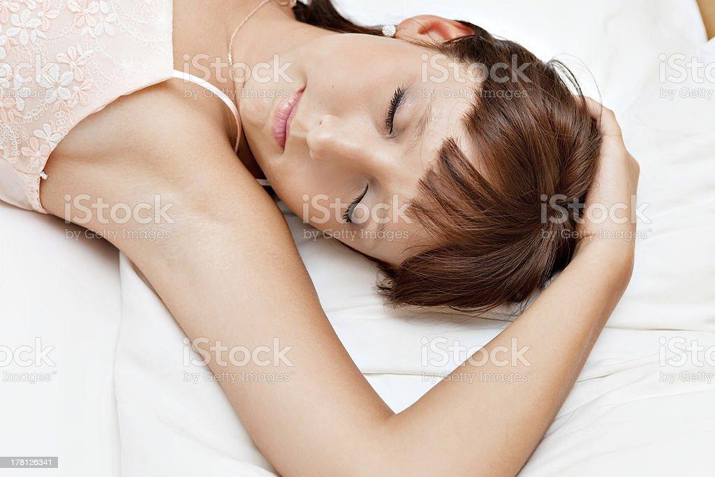 Sweet dreams. royalty-free stock photo