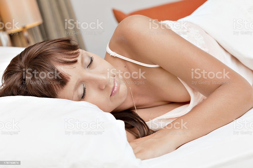 Sweet dreams. royalty-free stock photo