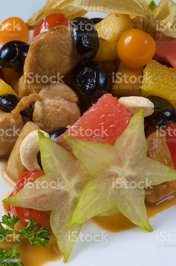 Sweet dried fruit royalty-free stock photo