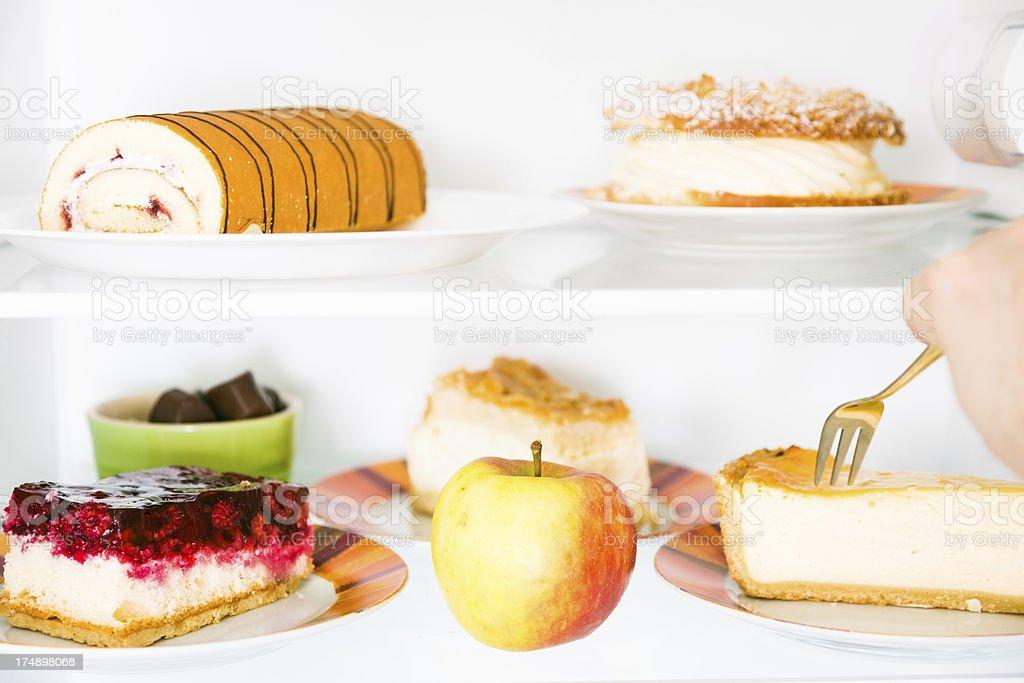 sweet fridge royalty-free stock photo