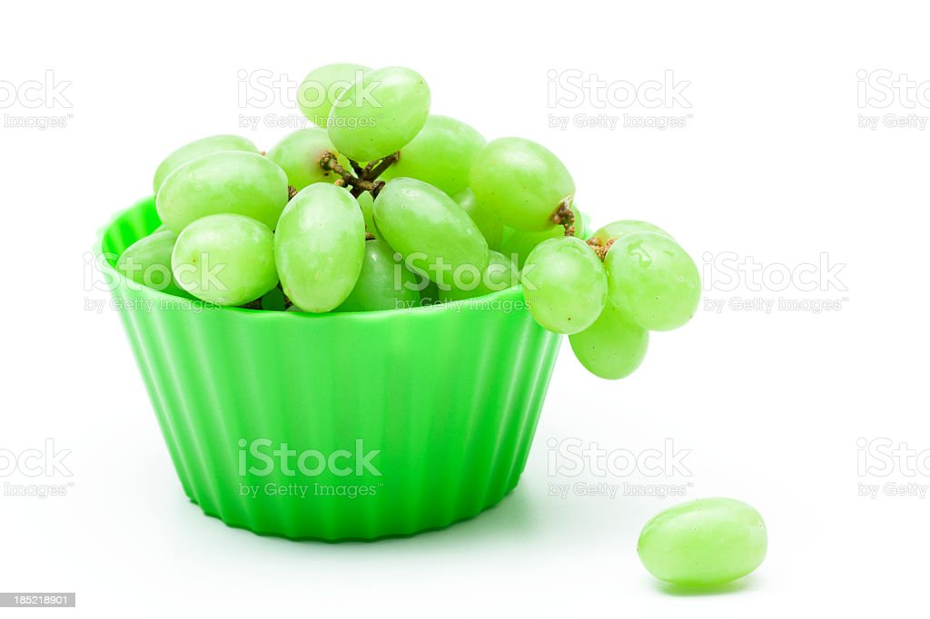 Sweet Green Grapes stock photo