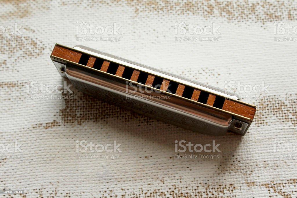 Sweet harmonica stock photo