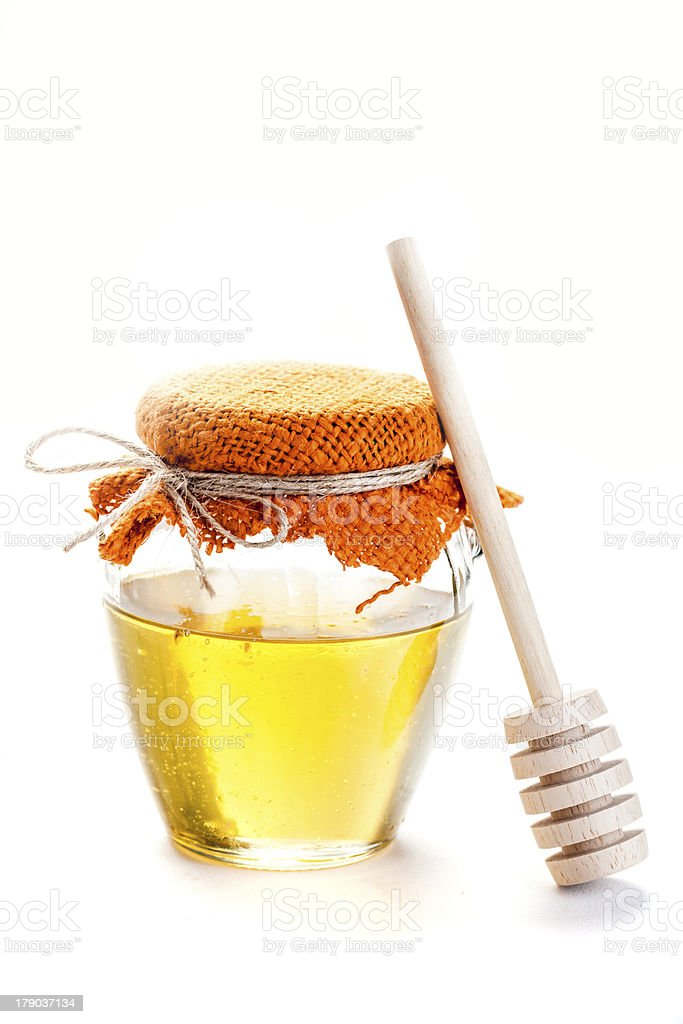 sweet healthy honey royalty-free stock photo