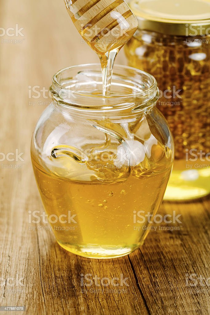sweet healthy honey royalty-free stock photo