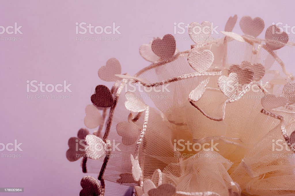 sweet heart lace royalty-free stock photo
