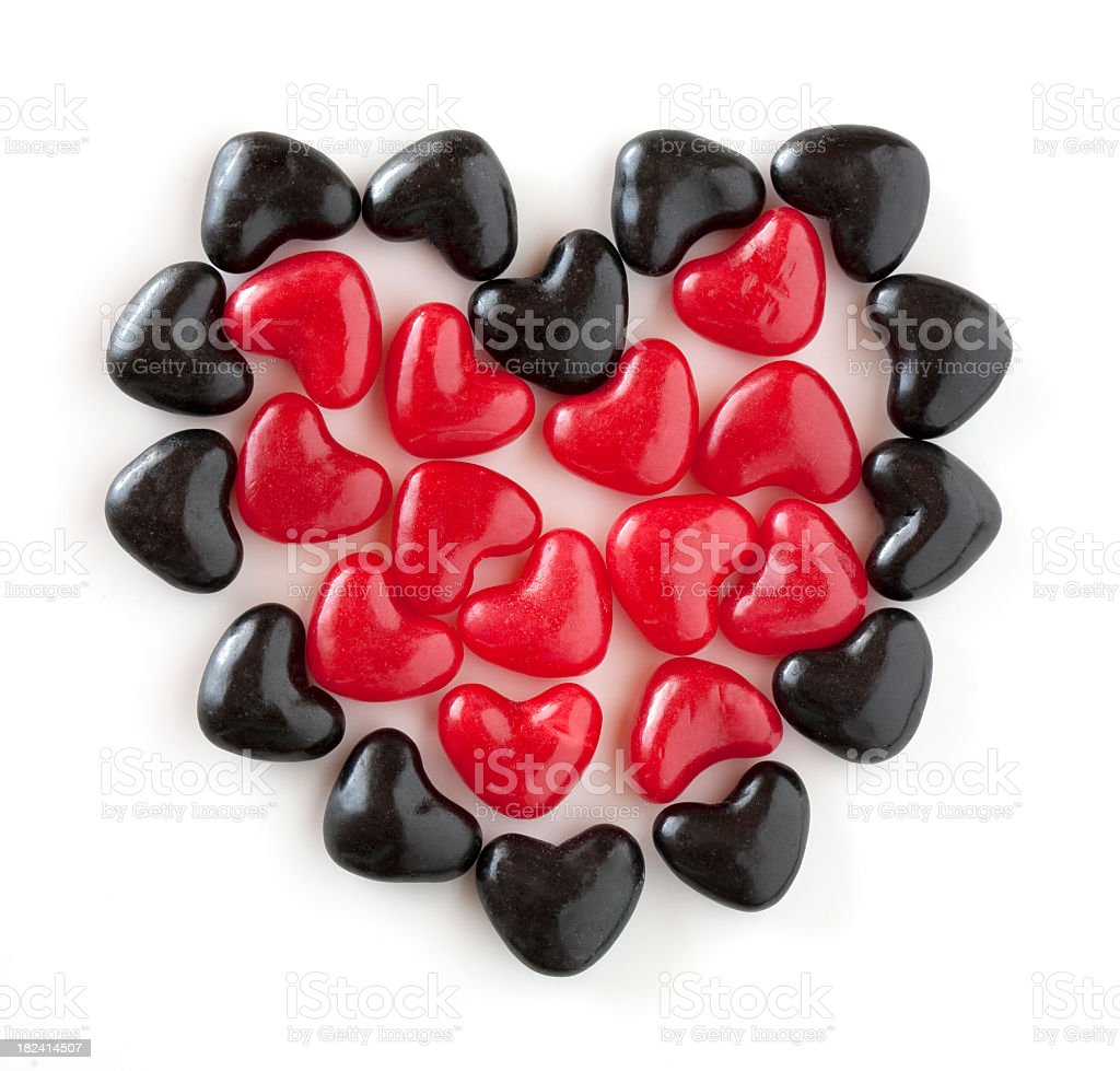 Sweet Hearts royalty-free stock photo