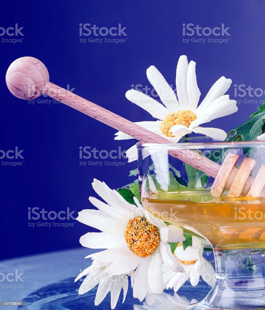 sweet honey royalty-free stock photo