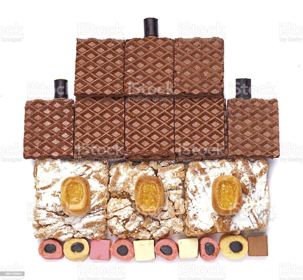 Sweet house. royalty-free stock photo