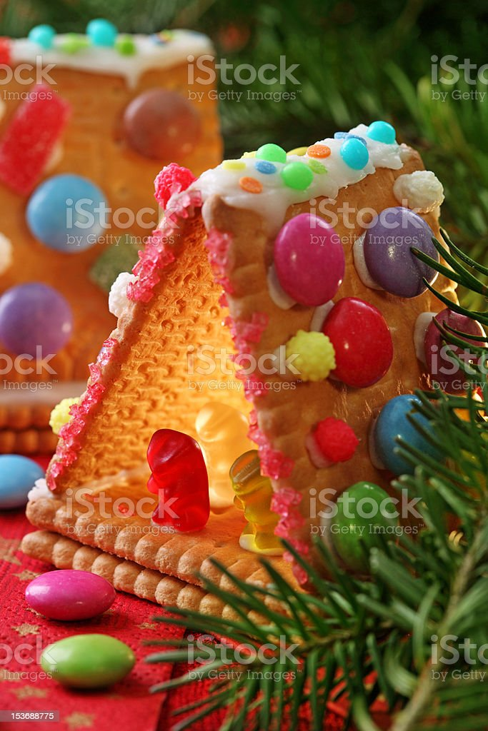 Sweet houses royalty-free stock photo