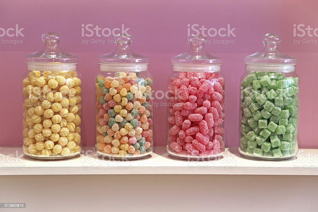 Sweet Jars stock photo