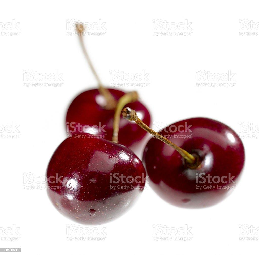 sweet juicy cherry royalty-free stock photo