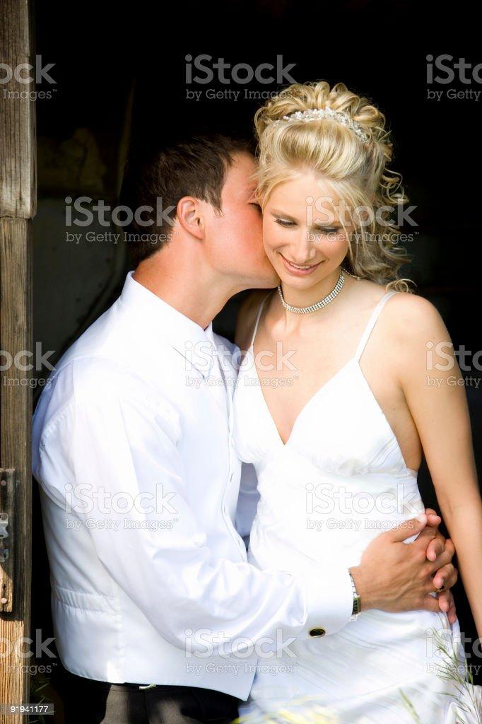 Sweet Kisses royalty-free stock photo